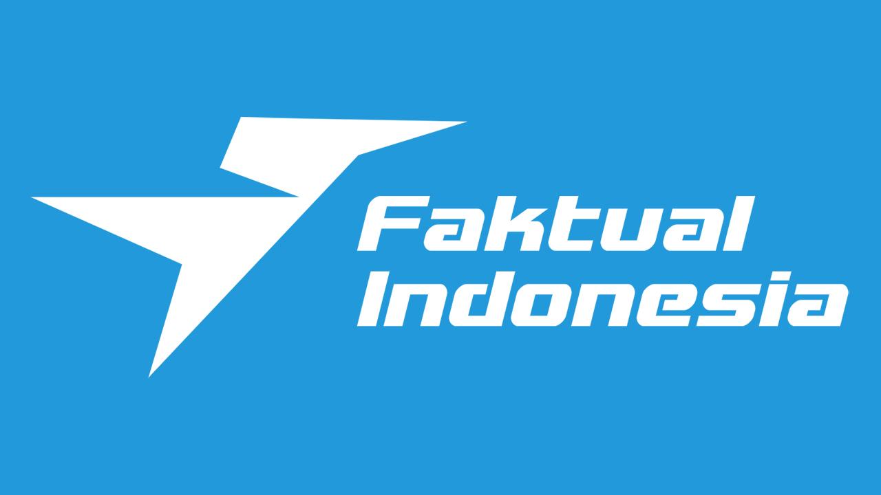 Pedoman Media Siber dan Logo Faktual Indonesia Biru