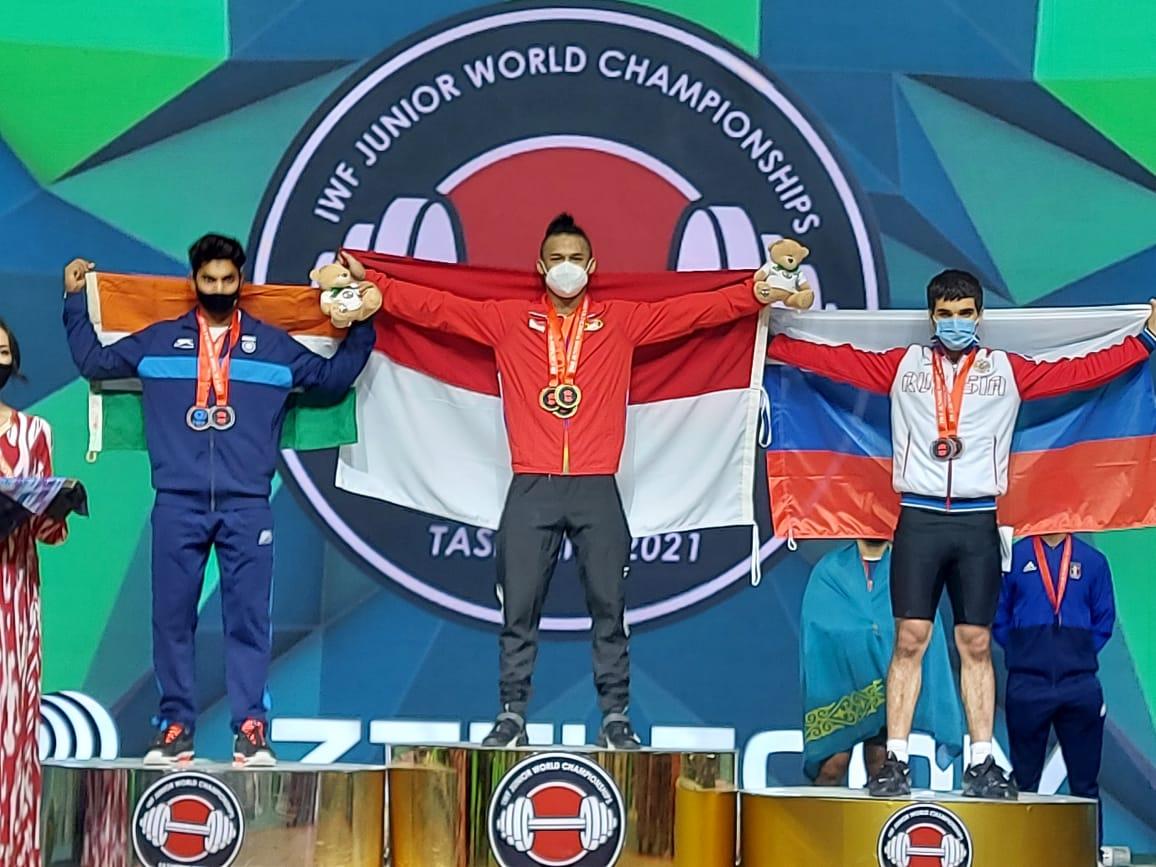 Rizki Juniansyah, juara dunia yunior. (Ist)