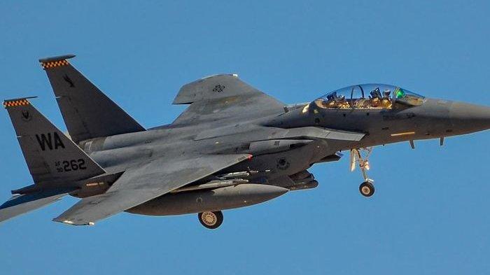 Pesawat jet tempur F-15 milik Israel. (Ist)