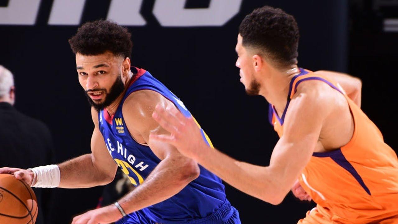 Phoenix Suns berhadapan Denver Nuggets. (Ist)