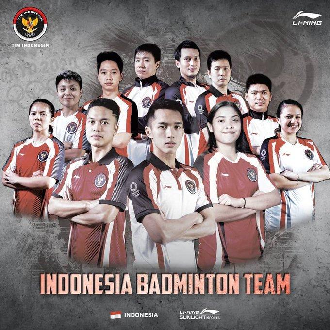 Tim bulutangkis Indonesia sudah tiba di Tokyo, Jepang untuk berjuang merebut medali emas pada Olimpiade 2020. Selamat berjuang.