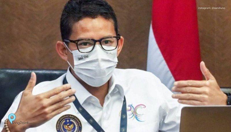 Menteri Pariwisata dan Ekonomi Kreatif Sandiaga Salahuddin Uno mengajak Institut Agama Islam Negeri Salatiga untuk ikut berkontribusi dalam meningkatkan kemampuan digital pelaku ekonomi kreatif di Indonesia