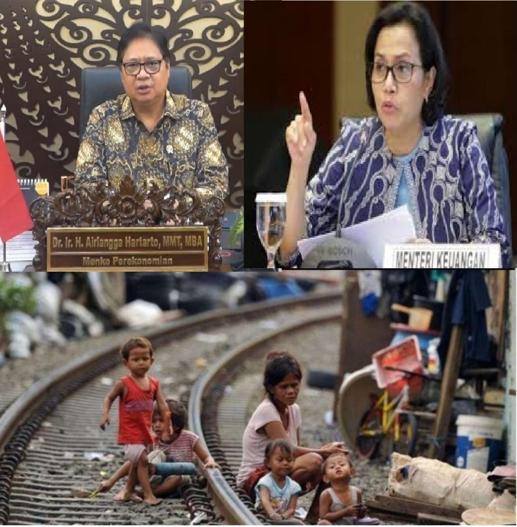 Pandemi covid-19 jangan dijadikan alasan pembenar turunnya kasta Indonesia menjadi negara menengah ke bawah tapi evaluasi kebijakan ekonomi