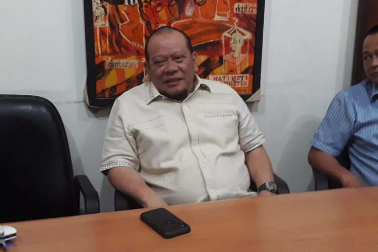 Ketua DPD RI LaNyalla Mahmud Mattalitti. (Ist).