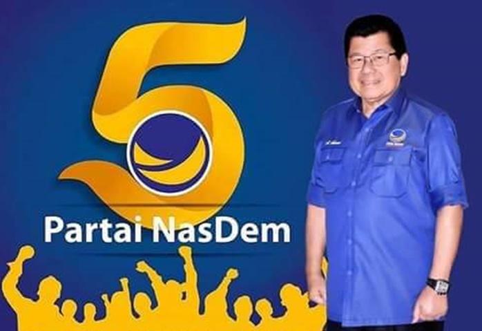 Anwar Adnan Saleh Pimpin Partai NasDem Sulbar. (Ist).