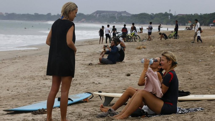 Turis asing di Bali. (Ist)