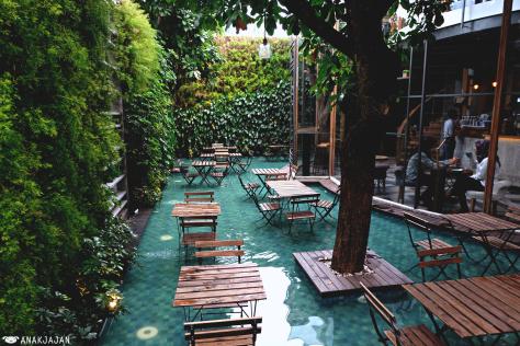 cafe instagramable di bandung