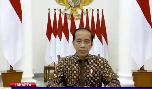 Presiden Jokowi menyampaikan perpanjangan PPKM Darurat 5 hari. (Ist).