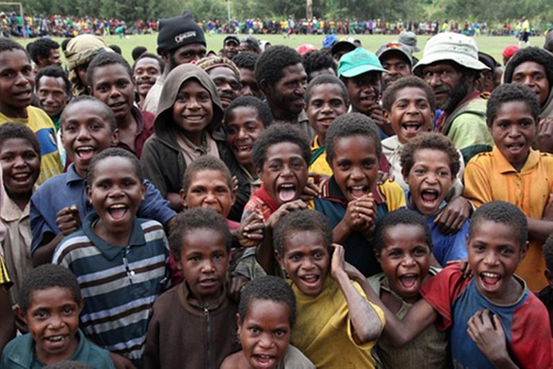Anak-anak asli Papua yang diharapkan memperoleh kesejahteraan melalui Otsus Papua. (Ist).