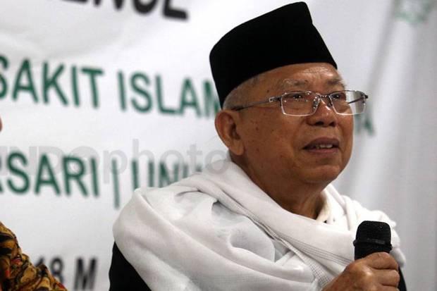 Wakil Presiden Ma'ruf Amin. (Ist).