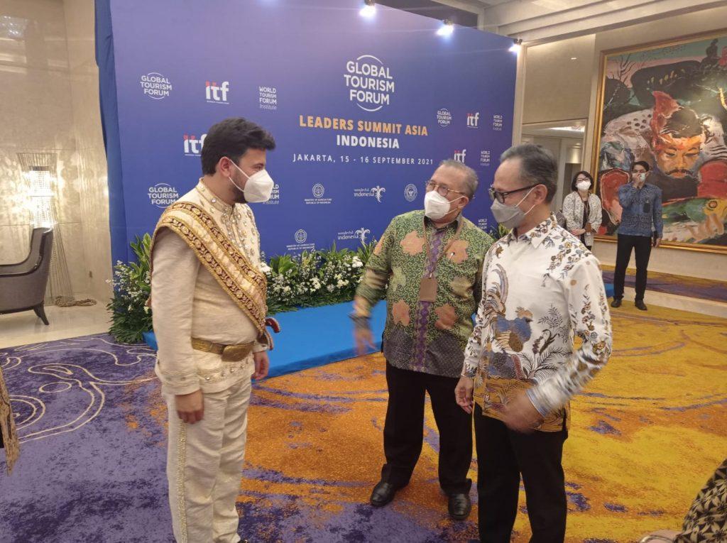 Wakil Menteri Luar Negri Mahendra Siregar menutup Global Tourism Forum (GTF) Leaders Summit Asia yang berlangsung selama dua hari di Jakarta, 15 – 16 September 2021