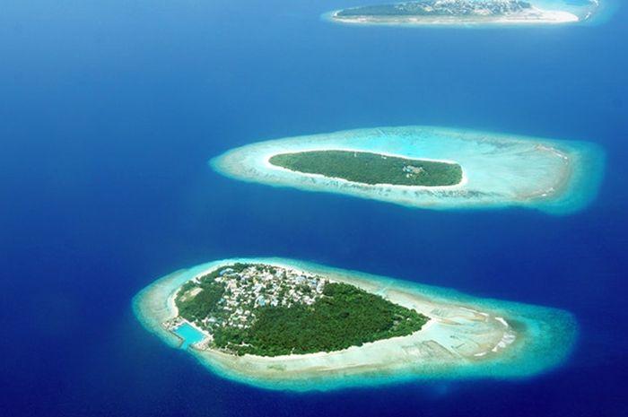 Tidak hanya Jakarta yang terancam, pulau-pulau kecil juga terancam tenggelam